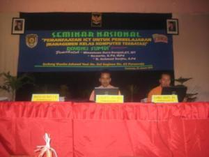 Seminar Nasional Pemanfaatan ICT dalam pembelajaran aktif