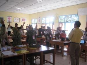 Pelatihan PAKEM guru di Bangka Barat