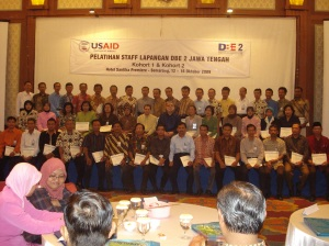 Wisuda Fasilitator & Trainer Active Learning DBE 2 USAID