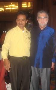 Bersama Michel Calvano (COP DBE 2 Jakarta)